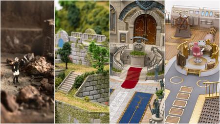Por increíble que parezca estas imágenes no son un montaje, son de un RPG hecho con maquetas por los creadores de Final Fantasy