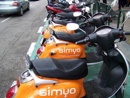 Imagen de la semana: las motos de Simyo