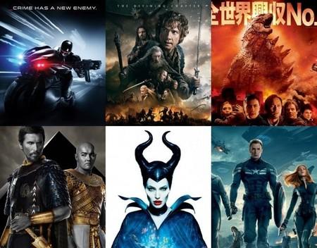 Las diez peores películas de 2014