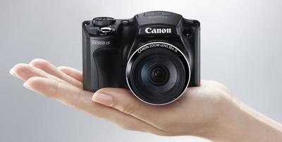 Nuevas cámaras bridge de Canon: Canon Powershot SX500 IS y SX160 IS
