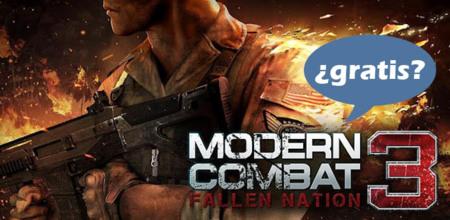 Modern Combat 3: Fallen Nation, otro juego gratuito si tienes un Samsung Galaxy SII