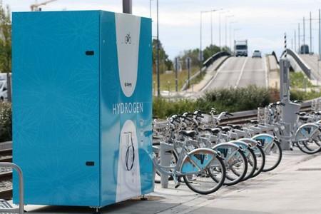 Burdeos tendrá un servicio de 10 bicicletas compartidas con pila de combustible de hidrógeno