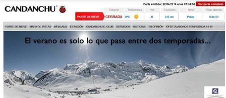 ¿Nieve?, Candanchú pone a la venta abonos para la temporada 2014-2015