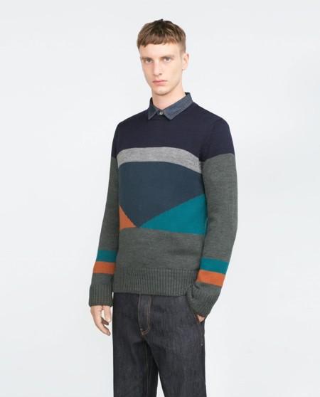 Jersey bauhaus de Zara