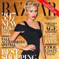 Si Vogue no quiere a Miley Cyrus, Harper's Bazaar la acoge