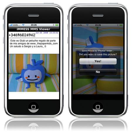 iMMESS, visualizador de MMS, ya es (casi) una aplicación nativa para iPhone