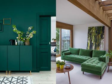 17 ideas para usar color verde en casa sin hacer el ridículo