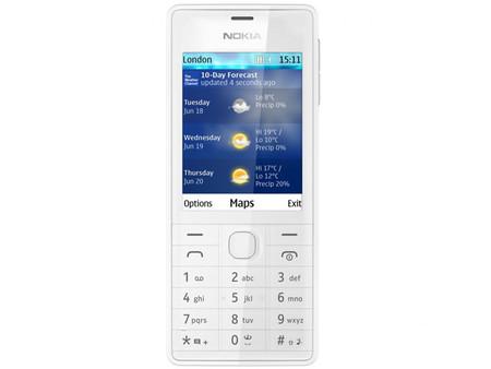 Nokia 515, un móvil económico pero con diseño cuidado de los finlandeses
