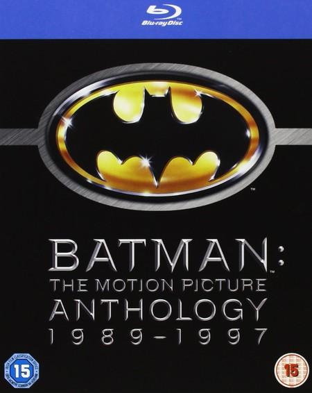 Batman: The Motion Picture (Antología 1989-1997), en Blu-ray, por 12,99 euros