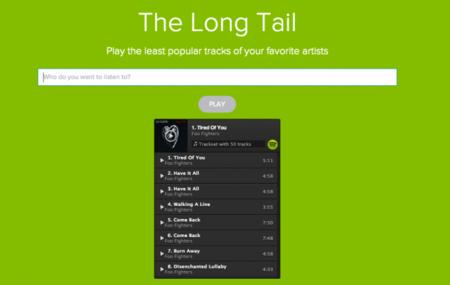 The Long Tail, las canciones menos populares en Spotify de tus artistas favoritos