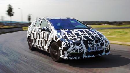 El Honda Civic Tourer tendrá suspensión trasera adaptativa