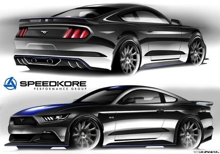 Speedkore Mustang