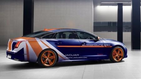 RRV Jaguar XJR: Un superdeportivo que apoya el Bloodhound.