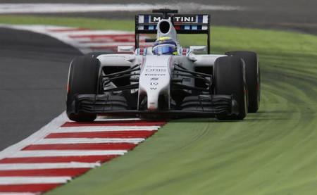 Felipe Massa, el más rápido en el primer día de pruebas en Silverstone