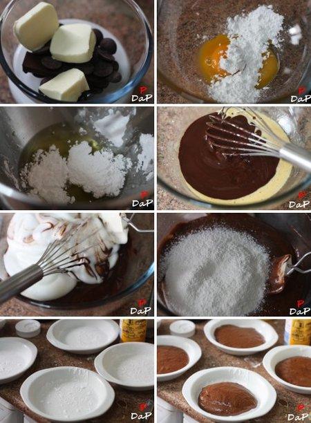 Elaboración paso a paso del bizcocho de chocolate tierno