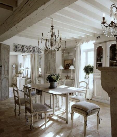 7 claves para llevar el estilo rom ntico a tu casa - Casas estilo romantico ...