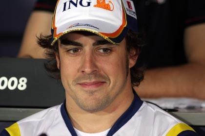 Fernando Alonso saldrá sólo por detrás de los Ferrari