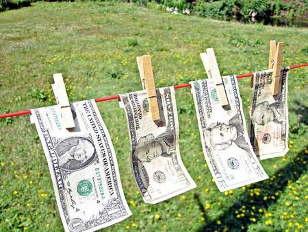 Lavar dinero por motivos higiénicos y de seguridad
