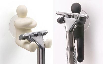 Colgadores de cuchillas de afeitar