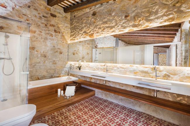 Bano Moderno Casa Pals Samaria 55 Emporda Girona Cases Singulars Tono Bagno Barcelona1