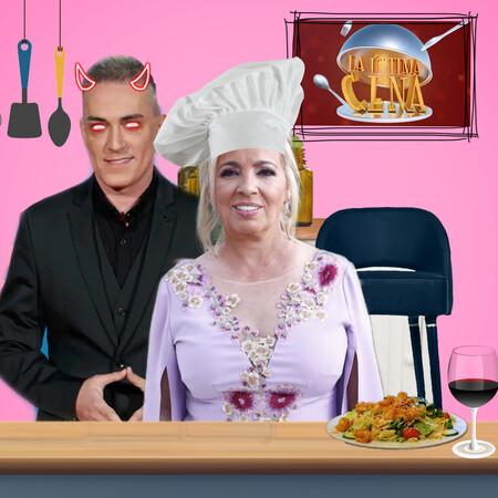 Carmen Borrego, la marioneta de Telecinco y el blanco fácil de Kiko Hernández en 'La Última Cena'
