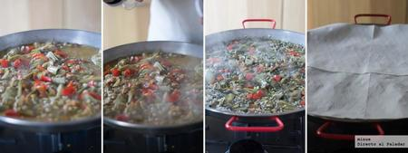Paella Verduras Elaboracion