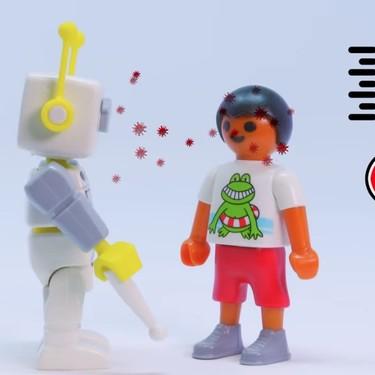 Los clicks de Playmobil explican a los niños qué está pasando en el mundo con el coronavirus