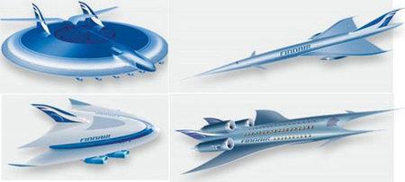 La flota aérea del 2093