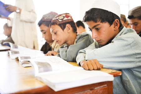1024px Afghan School Boys In Nad Ali Village Of Helmand