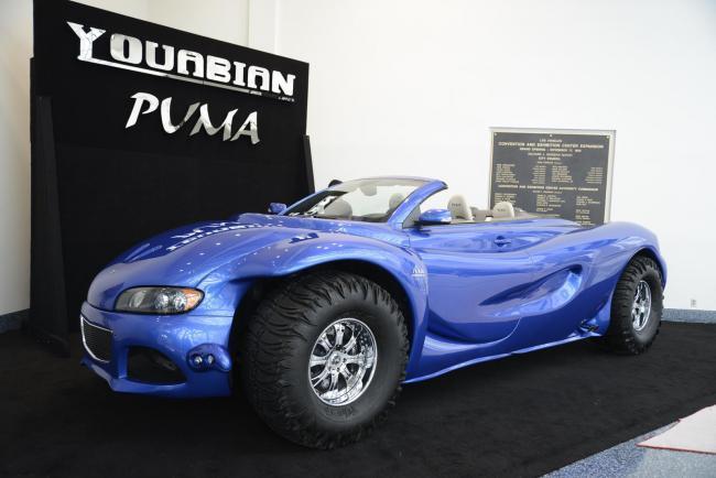 Sudán De vez en cuando arrebatar  Youabian Puma, el coche más feo del Salón de Los Ángeles