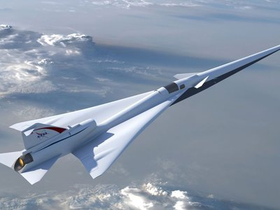 La NASA empezará a fabricar su avión supersónico silencioso para empezar a probarlo en 2023