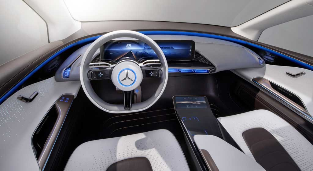 Foto de Mercedes EQ interior (8/9)