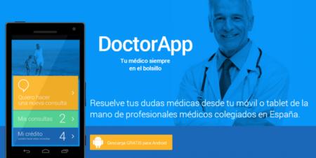 DoctorApp, consultas puntuales con personal médico desde tu móvil