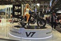 Gama Moto Guzzi V7, revisando el motor pequeño de la familia