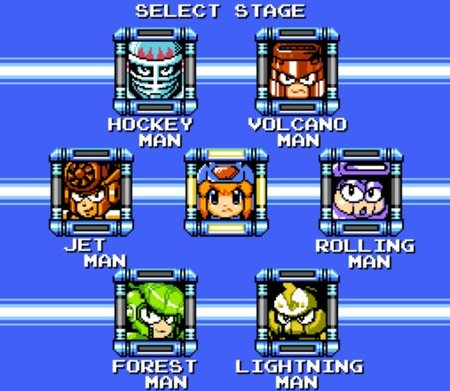 Rokko Chan - Stage Select