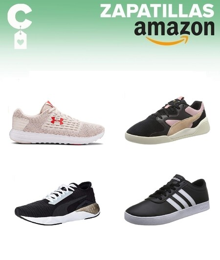 Chollos en tallas sueltas de zapatillas Puma, Adidas o Under Armour por menos de 40 euros en Amazon