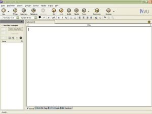 Nvu 1.0, editor HTML gratuito y libre