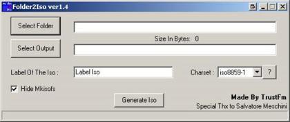 Folder2Iso, muy útil con VMWare