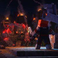 Minecraft Dungeons iba a ser más Zelda que Diablo al inicio del desarrollo