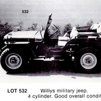 El Jeep Willys de 1945 que Steve McQueen compró al Ejército estadounidense busca dueño