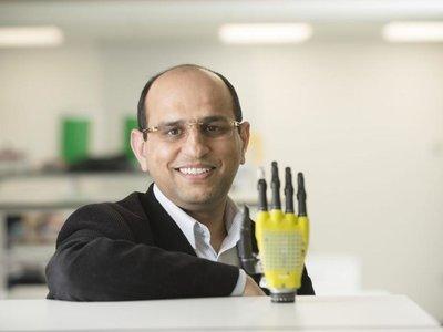 Este tejido robótico tiene mejor sentido del tacto que el de los seres humanos
