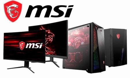 Monitores y equipos gaming de sobremesa MSI en oferta en Amazon: ahorra para disfrutar de tus juegos favoritos este verano