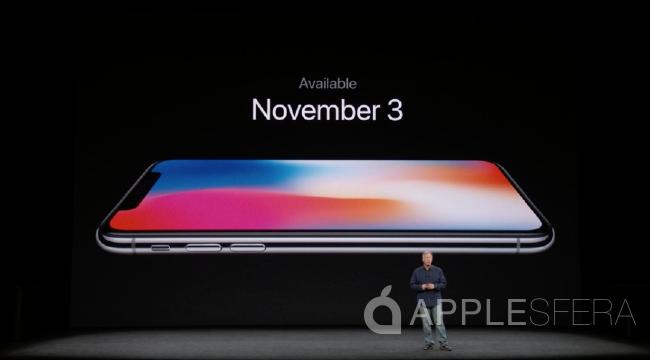 iPhone X disponibilidad