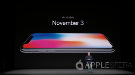 iPhone X disponibilidad