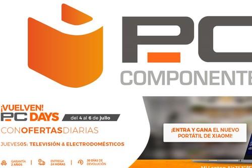 PC Days 2018 de PcComponentes: las 21 mejores ofertas en el día de la televisión y el electrodoméstico