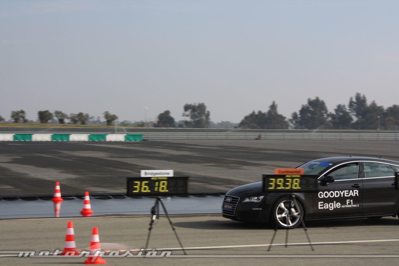 Foto de Goodyear Eagle F1: Audi TT RS, Audi A7 y Mercedes CLS (28/79)