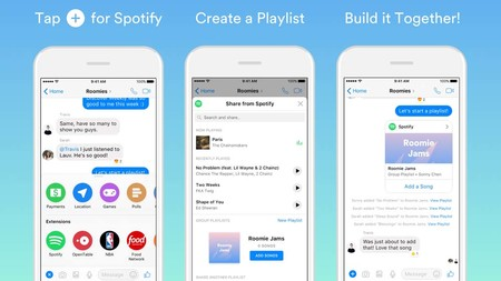 Facebook Messenger ya permite crear playlists grupales para Spotify