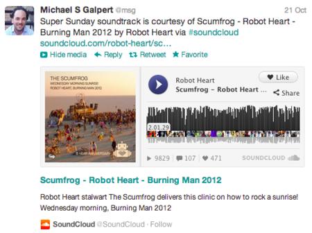 Twitter mejora sus tweets expandidos, que podrán incluir incluso sonidos