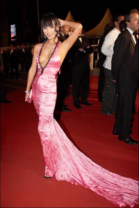 Bai Ling Festival de Cannes peor vestidas