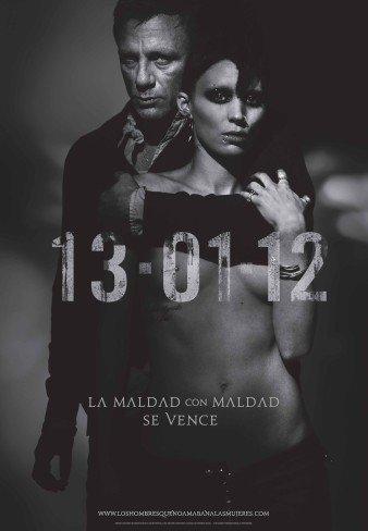 'Millennium: Los hombres que no amaban a las mujeres' ('The Girl with the Dragon Tattoo'), cartel y teaser tráiler en español